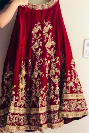 Gorgeous red Bridal Lehenga