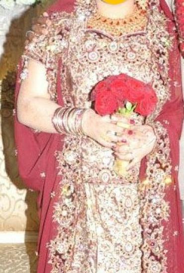 Bridal Plus Size Lehnga 14-16