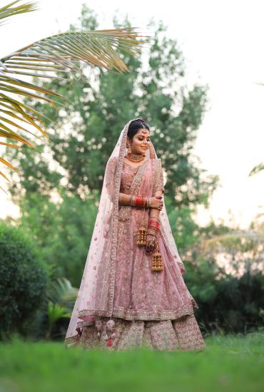 Pretty Pink Bridal Lehenga