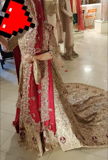 Pakistani Designer BridalDress